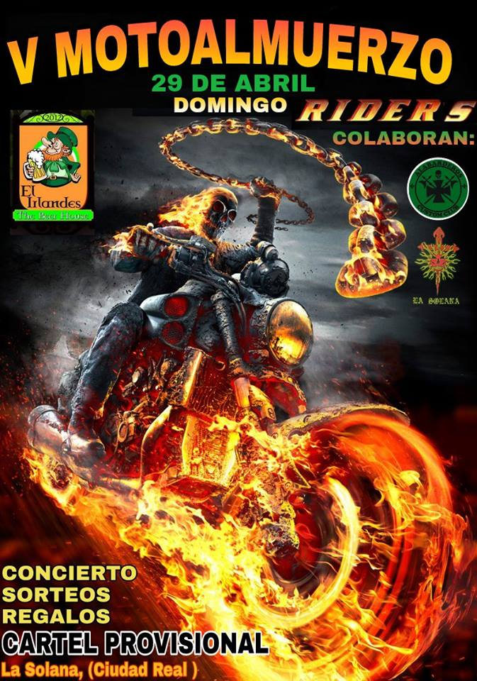 29 abril riders